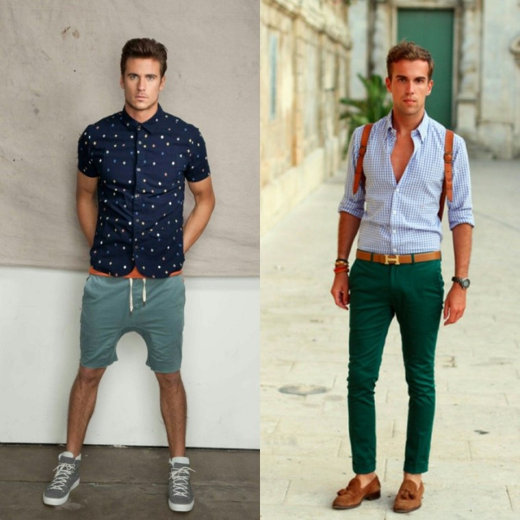 Short sleeve Vs. Rolled-sleeve